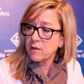 La alcaldesa de Vilanova i la Geltrú, Neus Lloveras