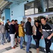 Aficionados del Celta sacan entradas en Balaidos