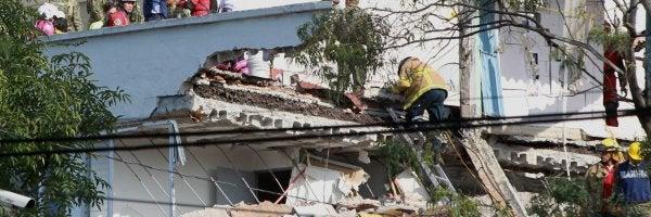 Confirmada la identidad del español entre los escombros en México: Jorge Gómez, de 33 años
