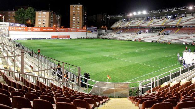 Imagen del Estadio de Vallecas