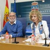 Ramón Ruiz y Eva Díaz Tezanos
