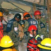 Las labores de rescate prosiguen sin descanso en México tras el terremoto