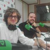 Carlos Cano y Hernán Milla