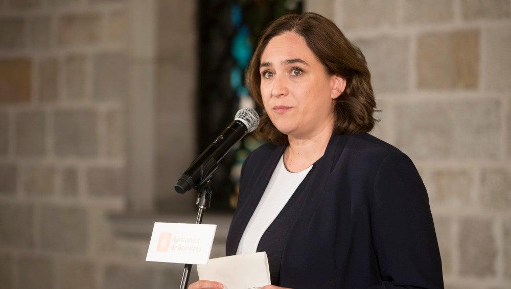 Ada Colau, alcaldesa de Barcelona