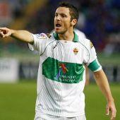 Edu Albacar, jugador del Elche.