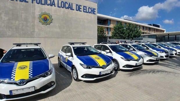 Coches de la Policía Local de Elche