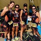 Las chicas del LA208 Triatlón Club logran el ascenso a Primera División de la Liga Autonómica