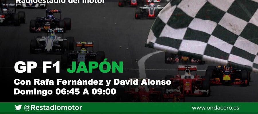 El GP de Japón de Fórmula 1 se corre en Radioestadio del Motor