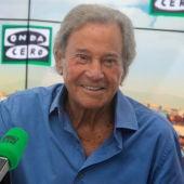 Arturo Fernández durante una entrevista en Onda Cero