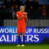 Robben se lamenta