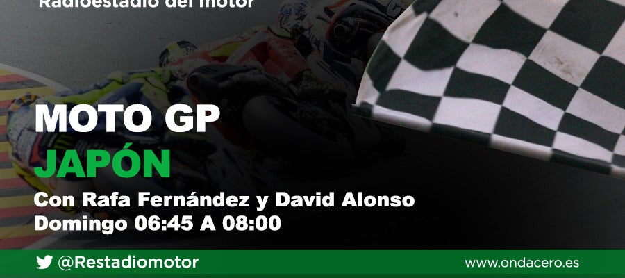 Gran Premio de Moto GP de Japón en Radioestadio del motor
