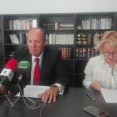 Luis Huete y Carmen Mendiola