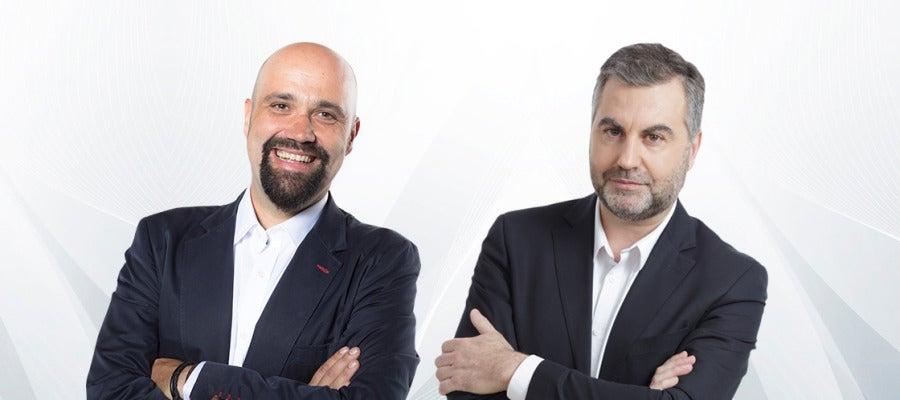 Carlos Alsina y David del Cura
