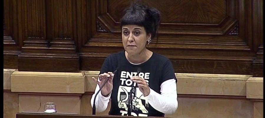 """Anna Gabriel cree que """"quizá se ha perdido una ocasión"""": """"Hoy tocaba declarar la independencia"""""""