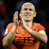 Robben, tras el partido contra Suecia