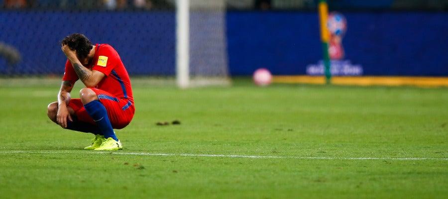 Chile clasificatorio Mundial Rusia