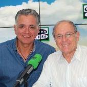 Emilio Gutiérrez Caba con Juan Ramón Lucas en Más de Uno