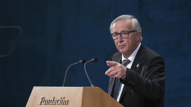 Jean Claude Juncker en los Premios Princesa de Asturias 2017