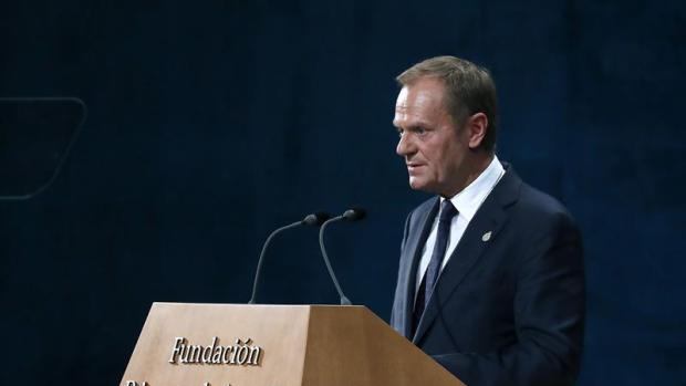 Donald Tusk en los Premios Princesa de Asturias 2017