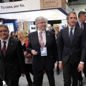 Jordi Cornet junto al Ministro de Fomento, Íñigo de la Serna