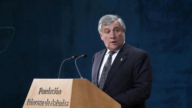 Antonio Tajani en los Premios Princesa de Asturias 2017