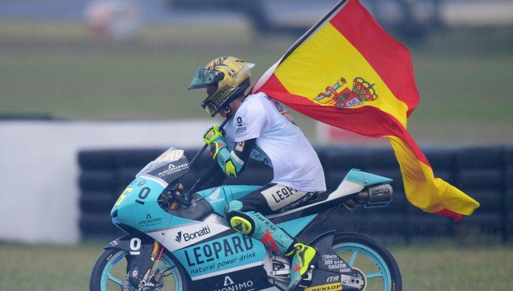 Joan Mir, campeón del mundo de Moto3