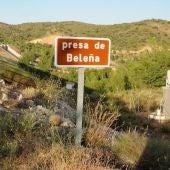 Embalse de Beleña en prealerta por sequía