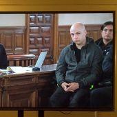 Sergio Morate durante el juicio