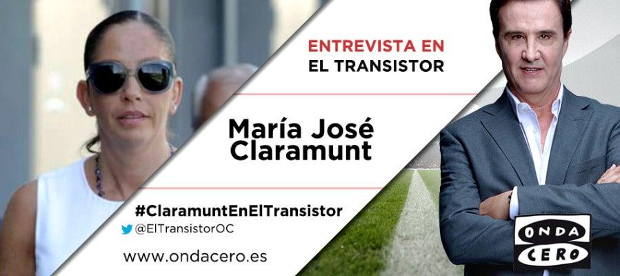 De la Morena entrevista a María José Claramunt en El Transistor.