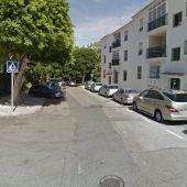 Calle de Torremolinos (Málaga) donde se produjo el apuñalamiento