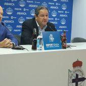Pepe Mel y Tino Fernández