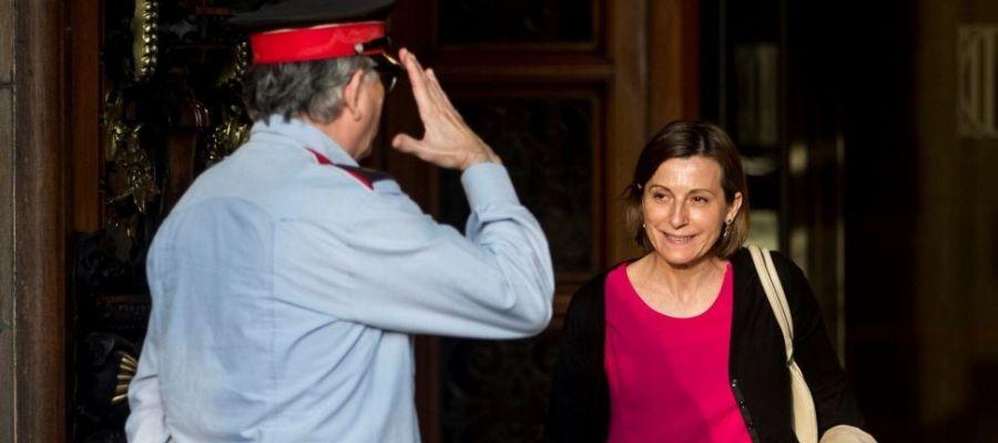 Carme Forcadell, presidenta cesada del Parlament catalán