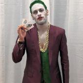 Neymar, disfrazado de 'Joker' en la noche de Halloween