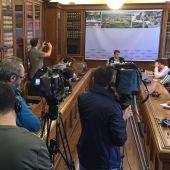 Junta de portavoces en el ayuntamiento de Irún