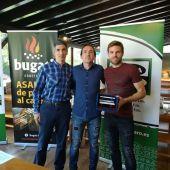 Entrega del premio mejor jugador del año de Onda Cero Gipuzkoa para Asier Illarramendi