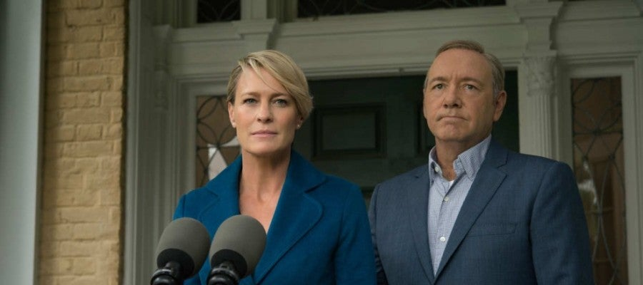 Claire y Frank Underwood en 'House of Cards'