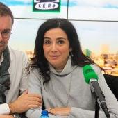 Javier Sierra y Cristina López Barrio