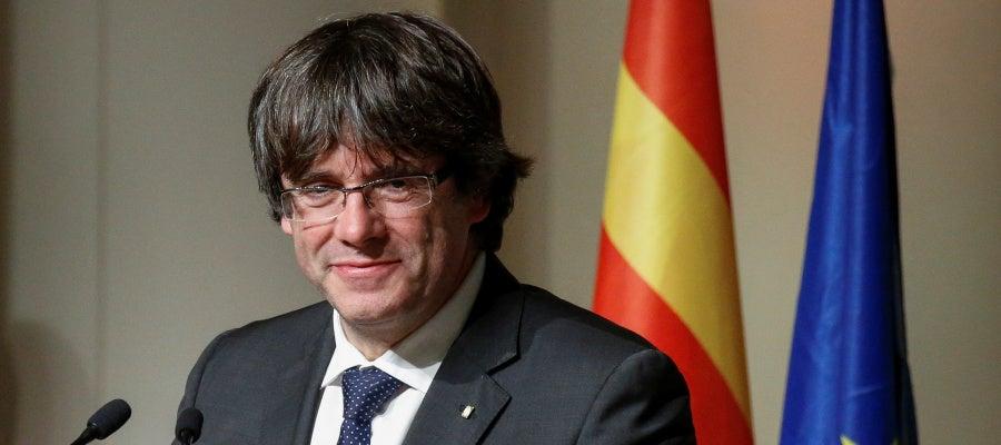 El expresident de Cataluña Carles Puigdemont