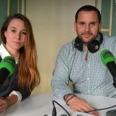 Juanma Fernández y Ana de Gracia