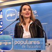 Marga Prohens, portavoz del PP en el Parlament