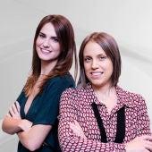 Marta Fullera y Amparo Sánchez