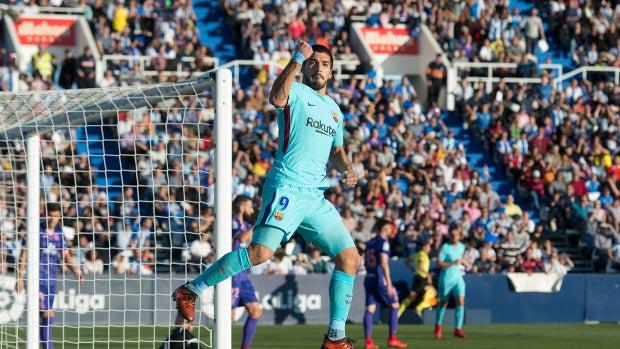 Leganés 0 - 3 Barcelona   El Barça no baja el ritmo y tumba al Leganés