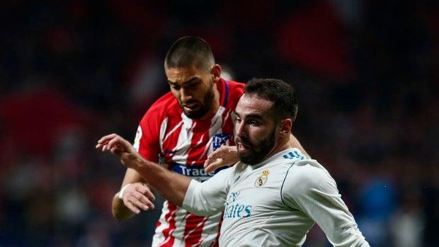 """Dani Carvajal: """"Hoy hemos hecho un partido completo, solo falta el gol"""""""