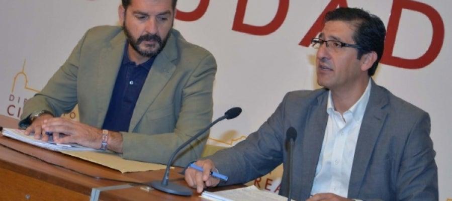 Manuel Martínez López-Alcorocho y José Manuel Caballero