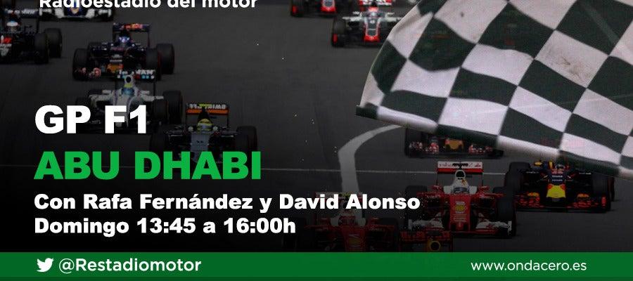 El Gran Premio de F1 de Abu Dhabi, en Radioestadio del motor