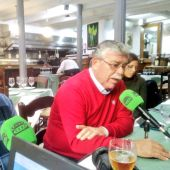 Paco Martín Aguilar en un momento de la entrevista