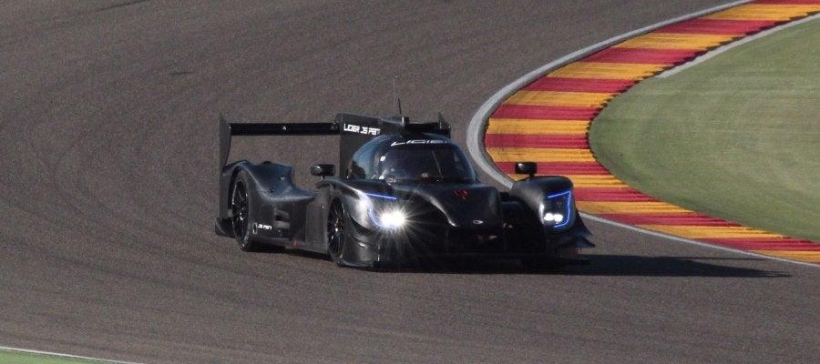 Fernando Alonso, a los mandos del Ligier JS P217
