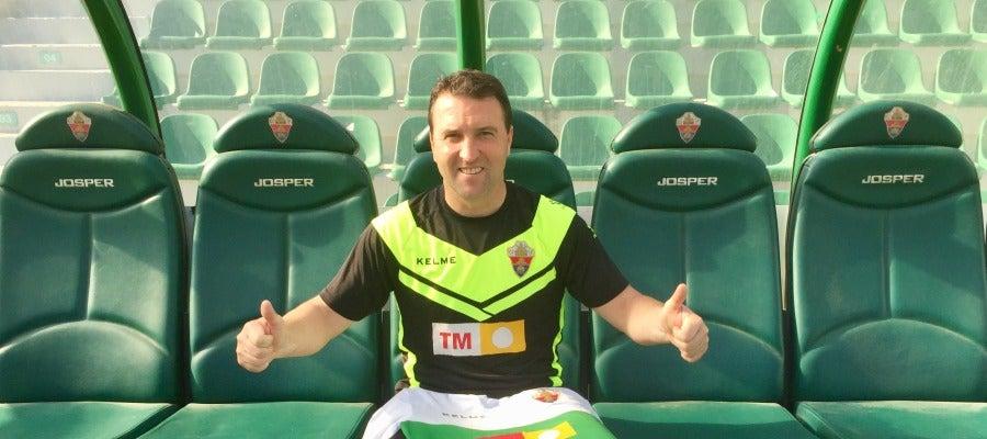 Josico, nuevo entrenador del Elche CF.