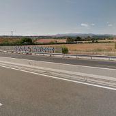 Carretera M-111 a la altura de Fuente del Saz