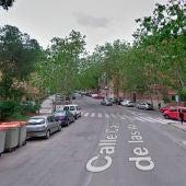 Calle Castillo Madrigal de las Altas Torres, Madrid